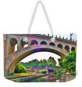 Manayunk Canal Weekender Tote Bag