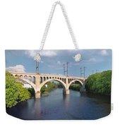 Manayunk Rail Road Bridge Weekender Tote Bag