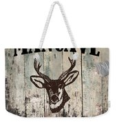 Mancave Deer Rack Weekender Tote Bag
