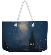 Manchester At Night Weekender Tote Bag