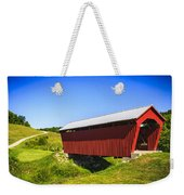 Manchester  Covered Bridge Weekender Tote Bag