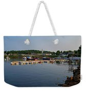 Manchester Harbor Manchester By The Sea Ma Weekender Tote Bag