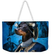 Manchester Terrier Art Canvas Print - Duc Weekender Tote Bag