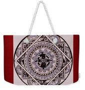 Mandala Art Weekender Tote Bag