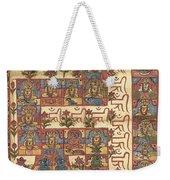 Mandala Weekender Tote Bag