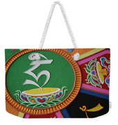 Mandala Hrih Weekender Tote Bag