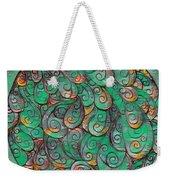 Mandala In Green Weekender Tote Bag