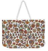Mandala Traditional Design Weekender Tote Bag