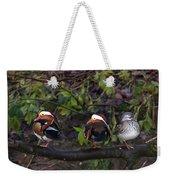 Mandarin Ducks Weekender Tote Bag