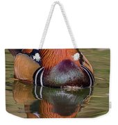 Mandarin Reflection Weekender Tote Bag