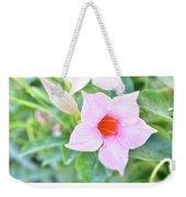 Mandevilla Pink Beauty Weekender Tote Bag
