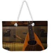 Mandolin And Suitcases Weekender Tote Bag
