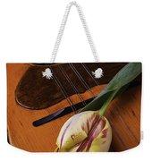 Mandolin And Tulip Weekender Tote Bag