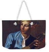 Mandolin Player Weekender Tote Bag