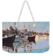 Mandraqi Rhodes Greece Weekender Tote Bag by Ylli Haruni