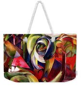 Mandrill Weekender Tote Bag by Franz Marc