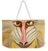 Mandrill Monkey Weekender Tote Bag