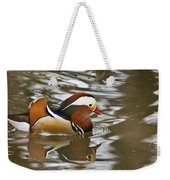 Mandrin Duck With A Purpose Weekender Tote Bag