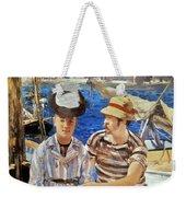 Manet: Boaters, 1874 Weekender Tote Bag