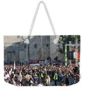 Manger Square Weekender Tote Bag