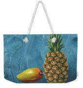 Mango And Pineapple Weekender Tote Bag