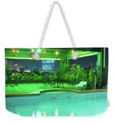 Mango Park Hotel Roof Top Pool Weekender Tote Bag