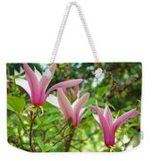 Mangolia Tree Flowers Art Prints Pink Magnolias Baslee Troutman Weekender Tote Bag