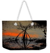 Mangrove Silhouette Weekender Tote Bag