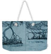 Mangroves Weekender Tote Bag by Leah  Tomaino