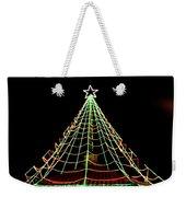 Manhattan Beach Christmas Weekender Tote Bag