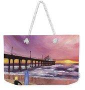 Manhattan Beach Pier Weekender Tote Bag