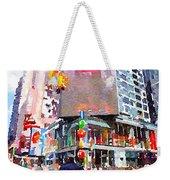 Manhattan Crossroads Weekender Tote Bag