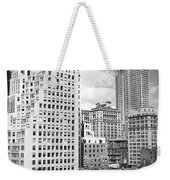 Manhattan From Madison Avenue Weekender Tote Bag
