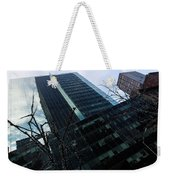 Manhattan Left Weekender Tote Bag