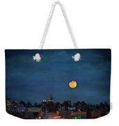 Manhattan Moonrise Weekender Tote Bag