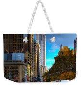 Manhattan Morning Weekender Tote Bag