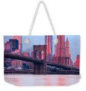 Manhattan -  New York City - Usa Weekender Tote Bag