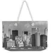 Manhattan New York Weekender Tote Bag