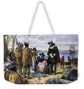 Manhattan Purchase, 1626 Weekender Tote Bag