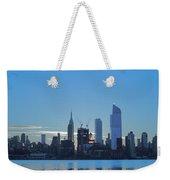 Manhattan Reflections  Weekender Tote Bag