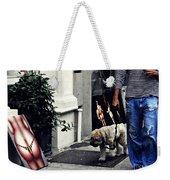 Manhattan Street Art Weekender Tote Bag