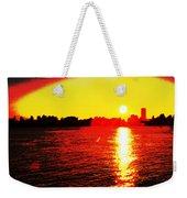 Manhattan Sunrise  Weekender Tote Bag
