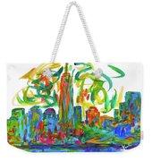 Manhattan Twirl Weekender Tote Bag