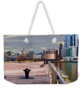 Manhattan West Side Panorama Weekender Tote Bag