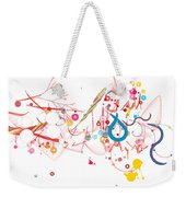 Mania Abstract Weekender Tote Bag