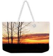 Manitoba Sunset Weekender Tote Bag