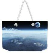 Mankind Exploring Space Weekender Tote Bag