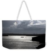 Manly Ferry And Storm Clouds Weekender Tote Bag