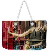Mannequin In Storefront Window Display With No Escape Weekender Tote Bag