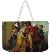 Manner Of Angelica Kauffman Weekender Tote Bag